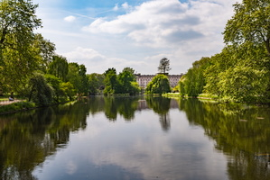 View in St James's Park