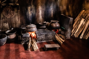 Traditional Kitchen in South India