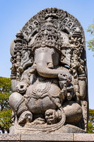 Ganesha Idol in Halebidu